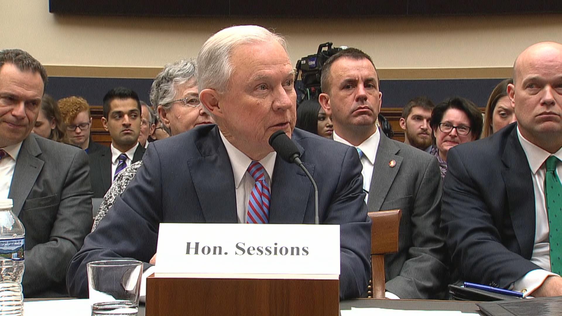 Sessions faces massive pressure to go...