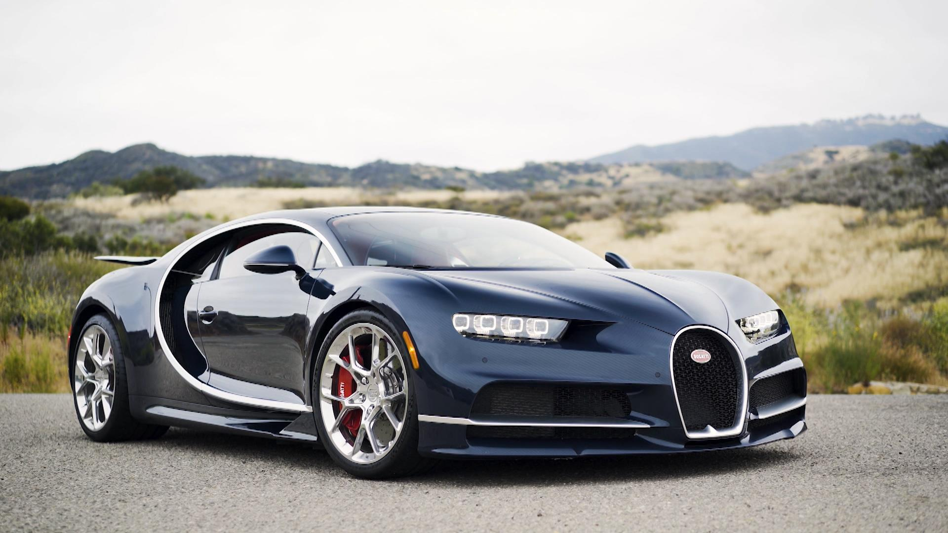 Behind The Wheel of A Bugatti Chiron, One of The Fastest ...
