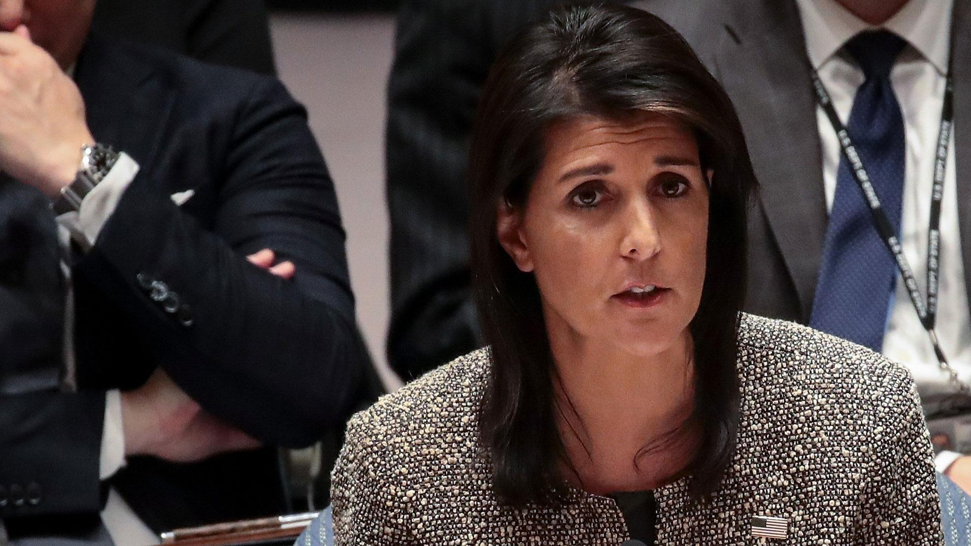 At UN, Ambassador Haley warns against war in which North Korean regime 'will be utterly destroyed'