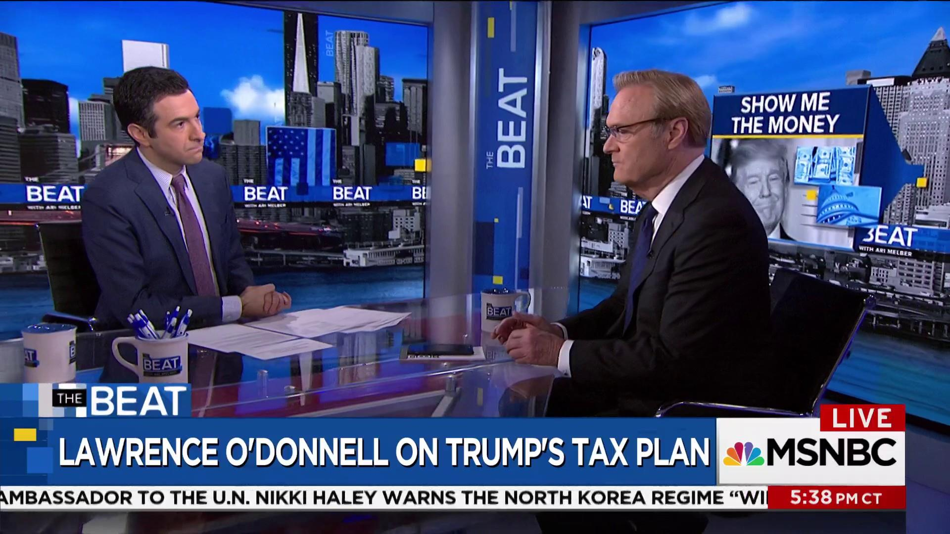 Lawrence O'Donnell: Trump tax plan ...