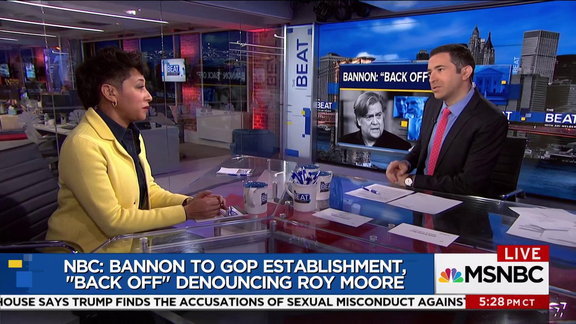 """Bannon to GOP: """"Back off"""" Moore!"""