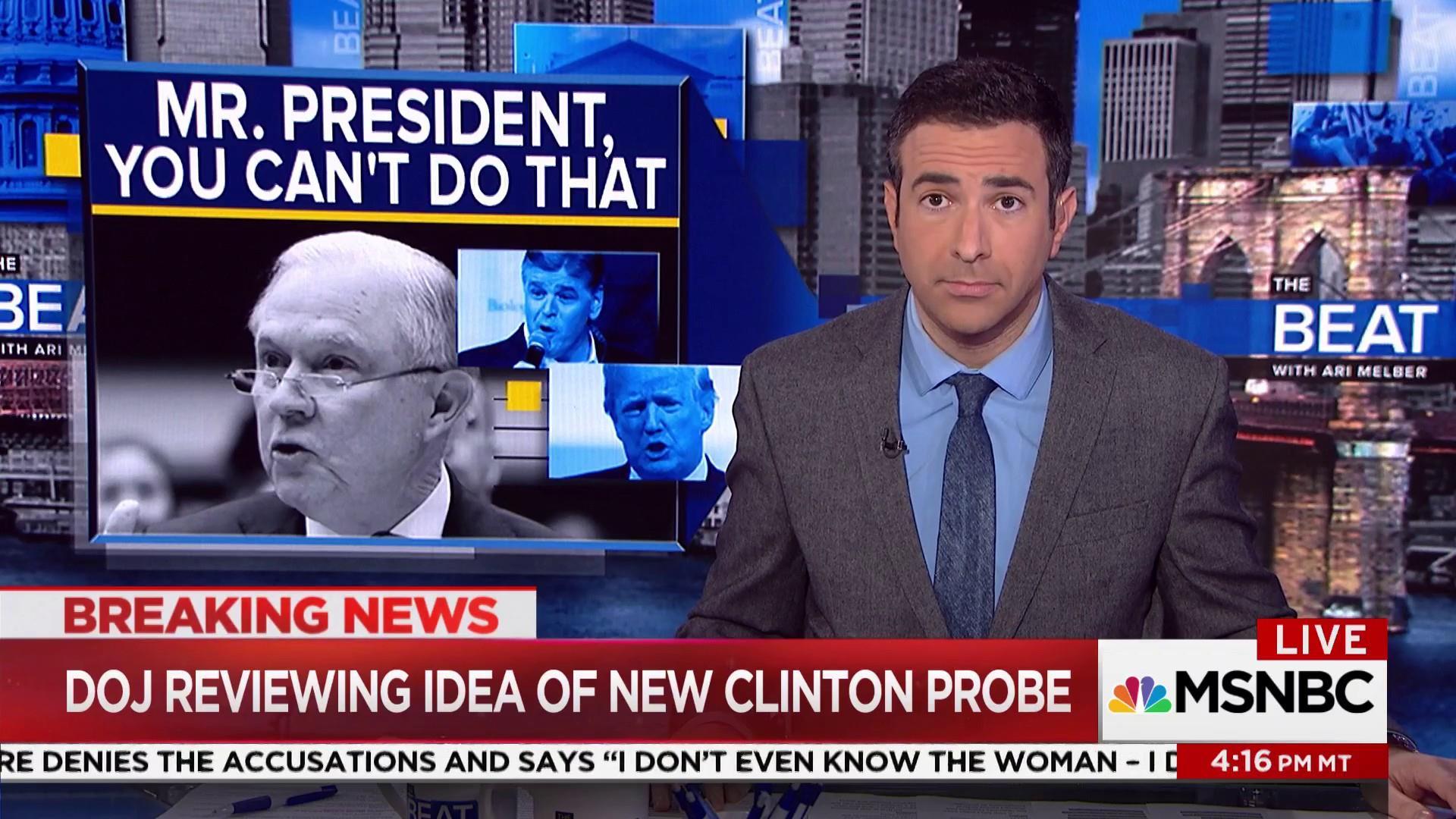 Melber: Is Jeff Sessions violating recusal...