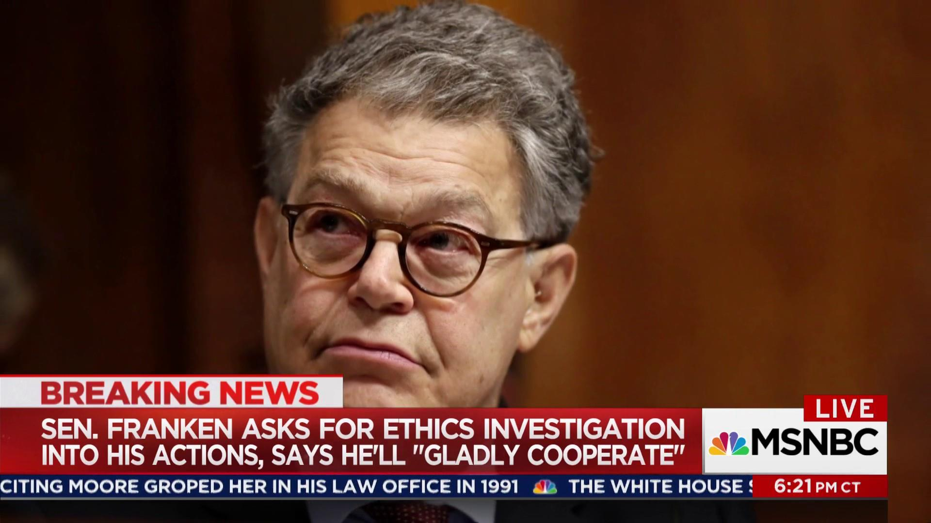Bipartisan calls for ethics investigation...