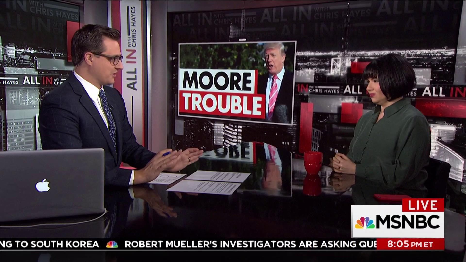 """Trump, Roy Moore and """"Law and Order"""""""