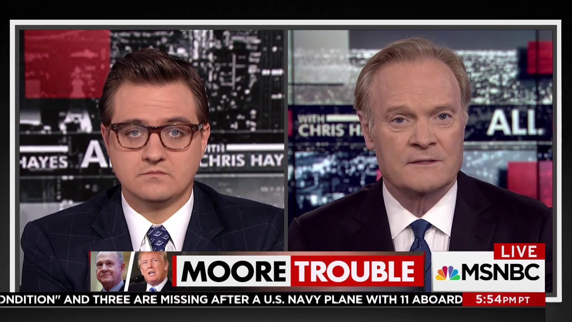 Despite accusations Moore could win...