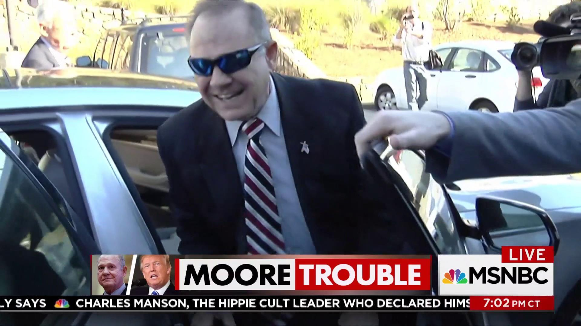 White House to Alabama: Stand with Roy Moore