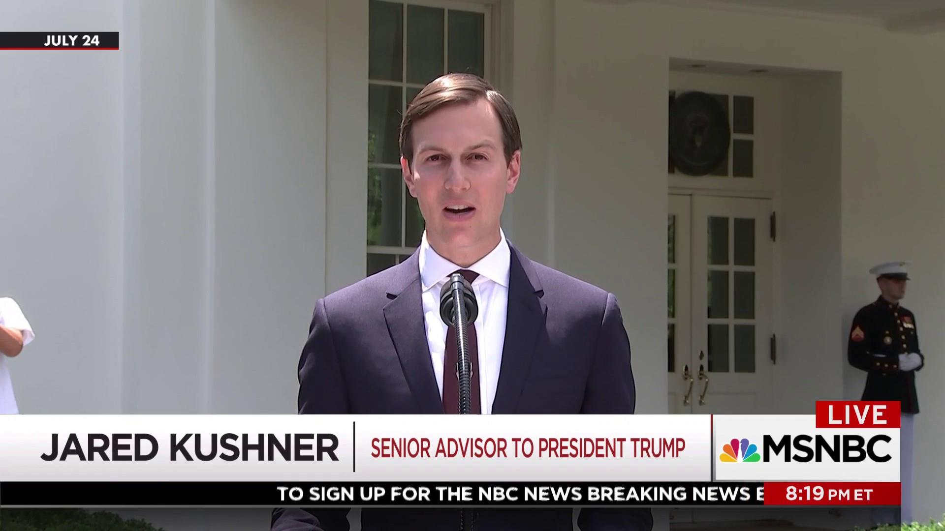 Kushner didn't provide Russia documents...
