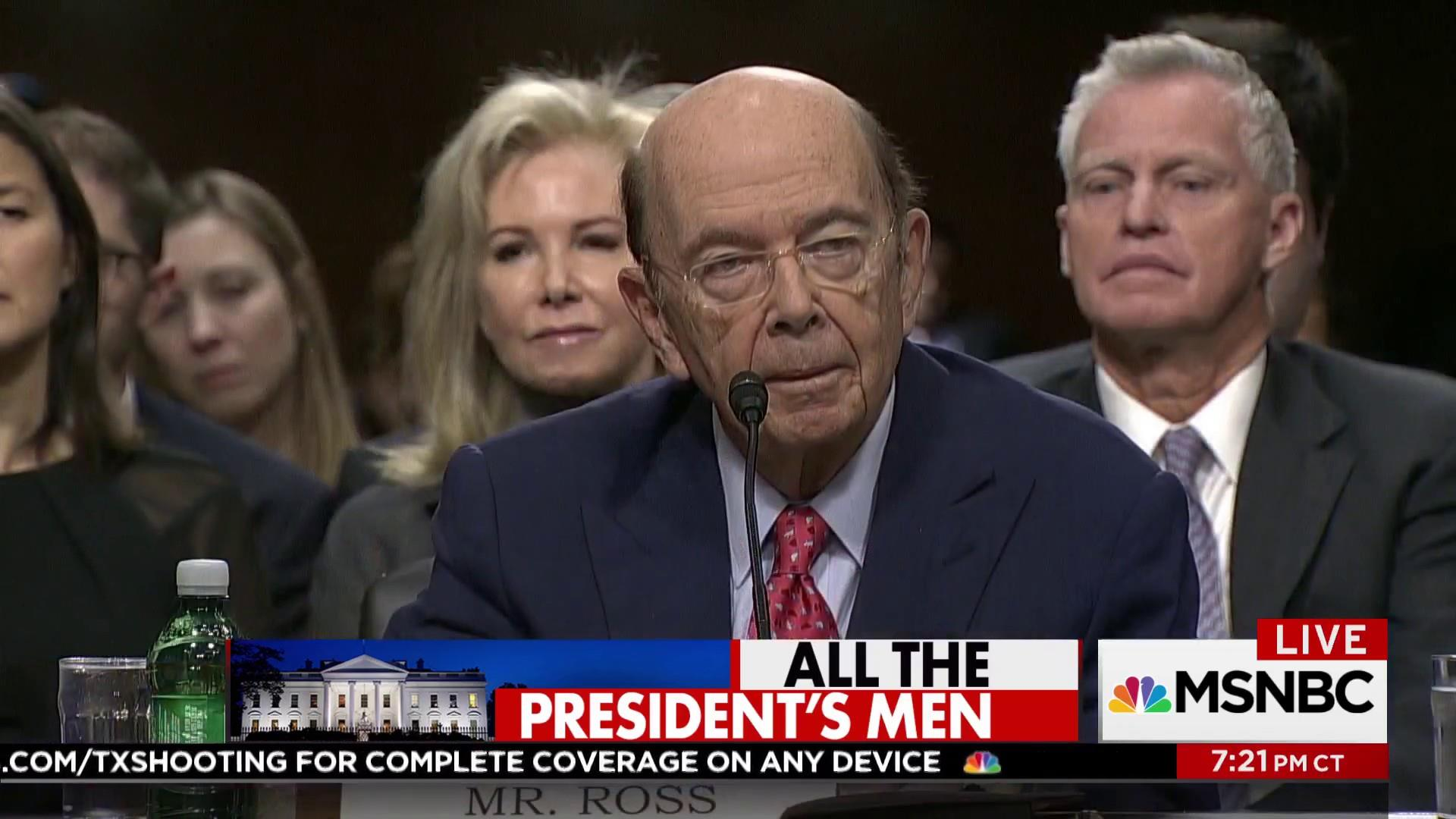 Wilbur Ross is the latest Trump ally with...