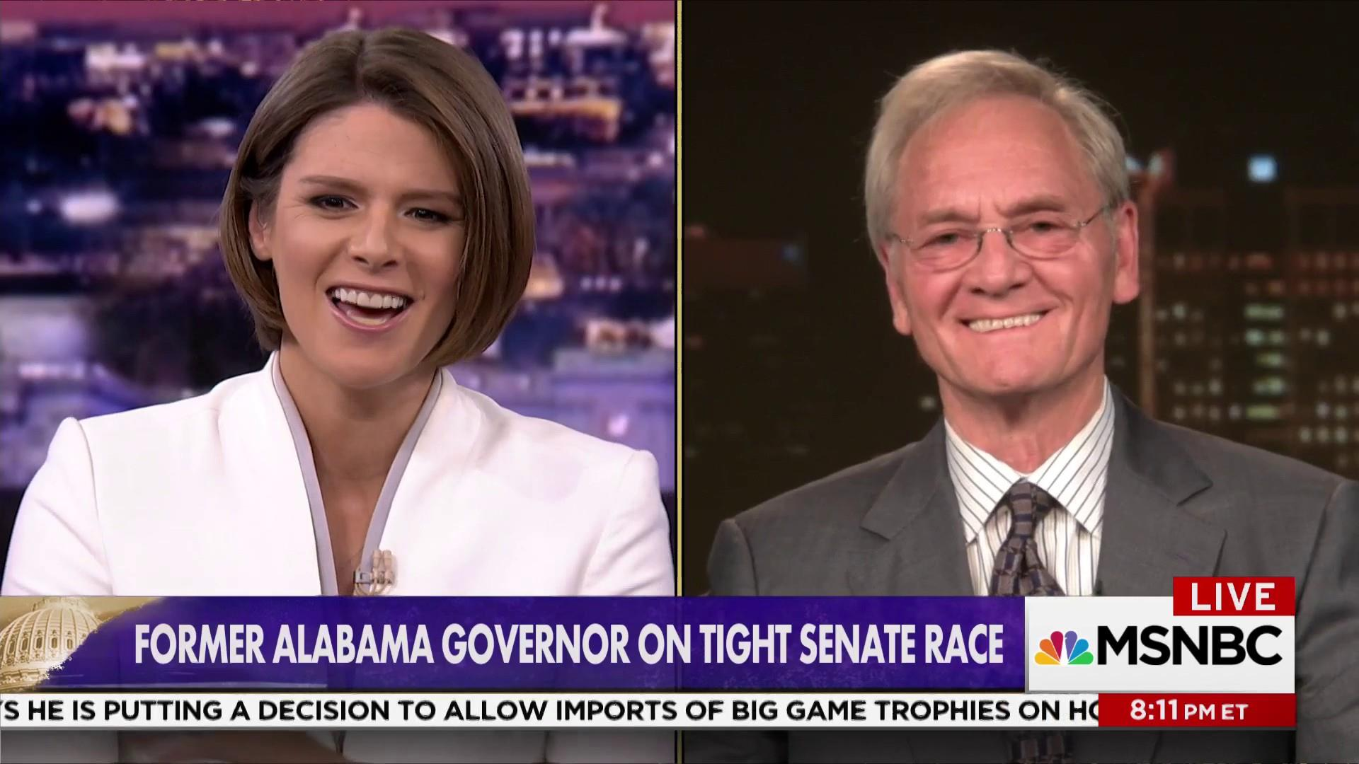 Former Alabama Governor: It's now or never...