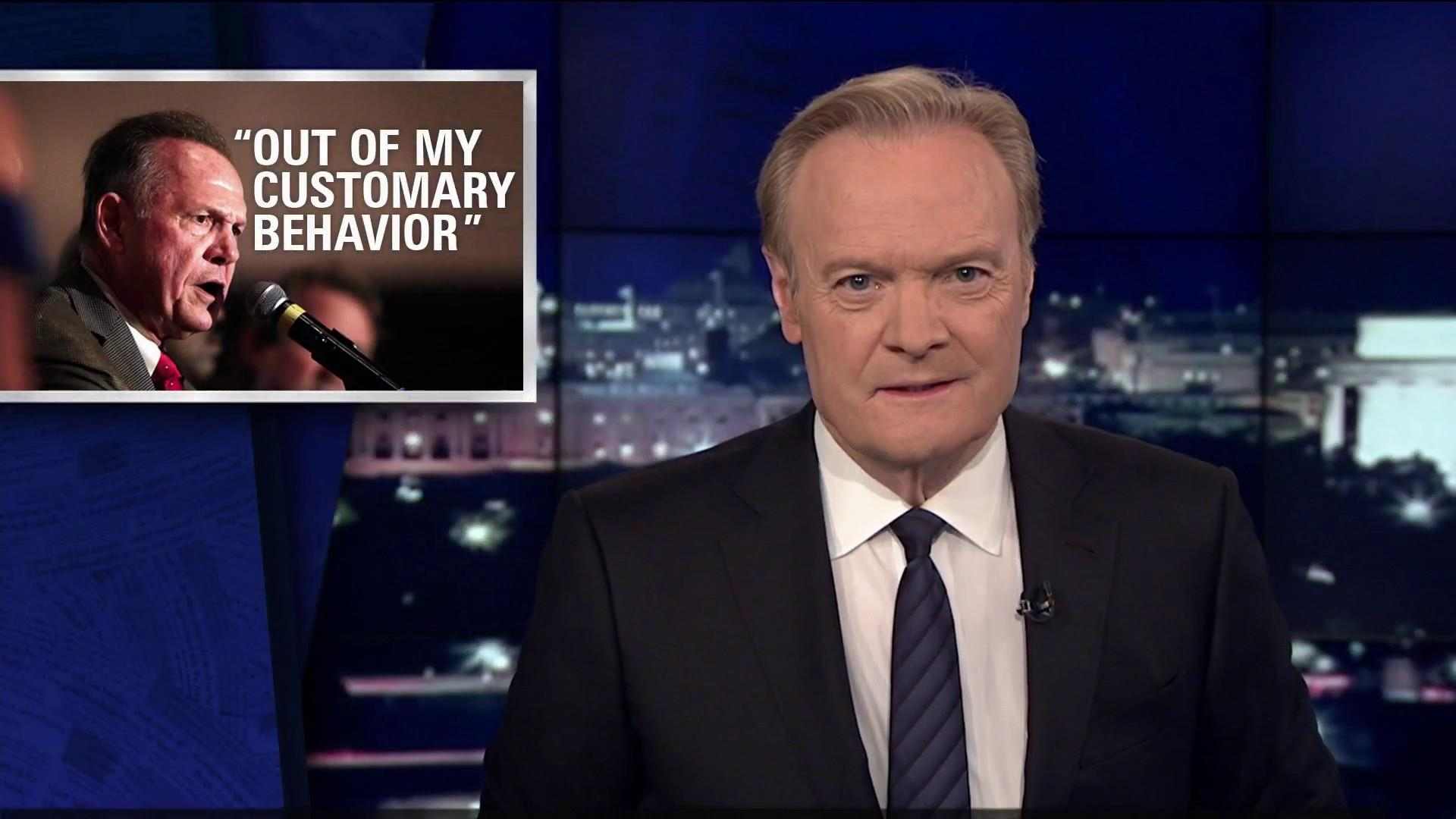 "Lawrence on Moore: ""I don't recall"" is not..."
