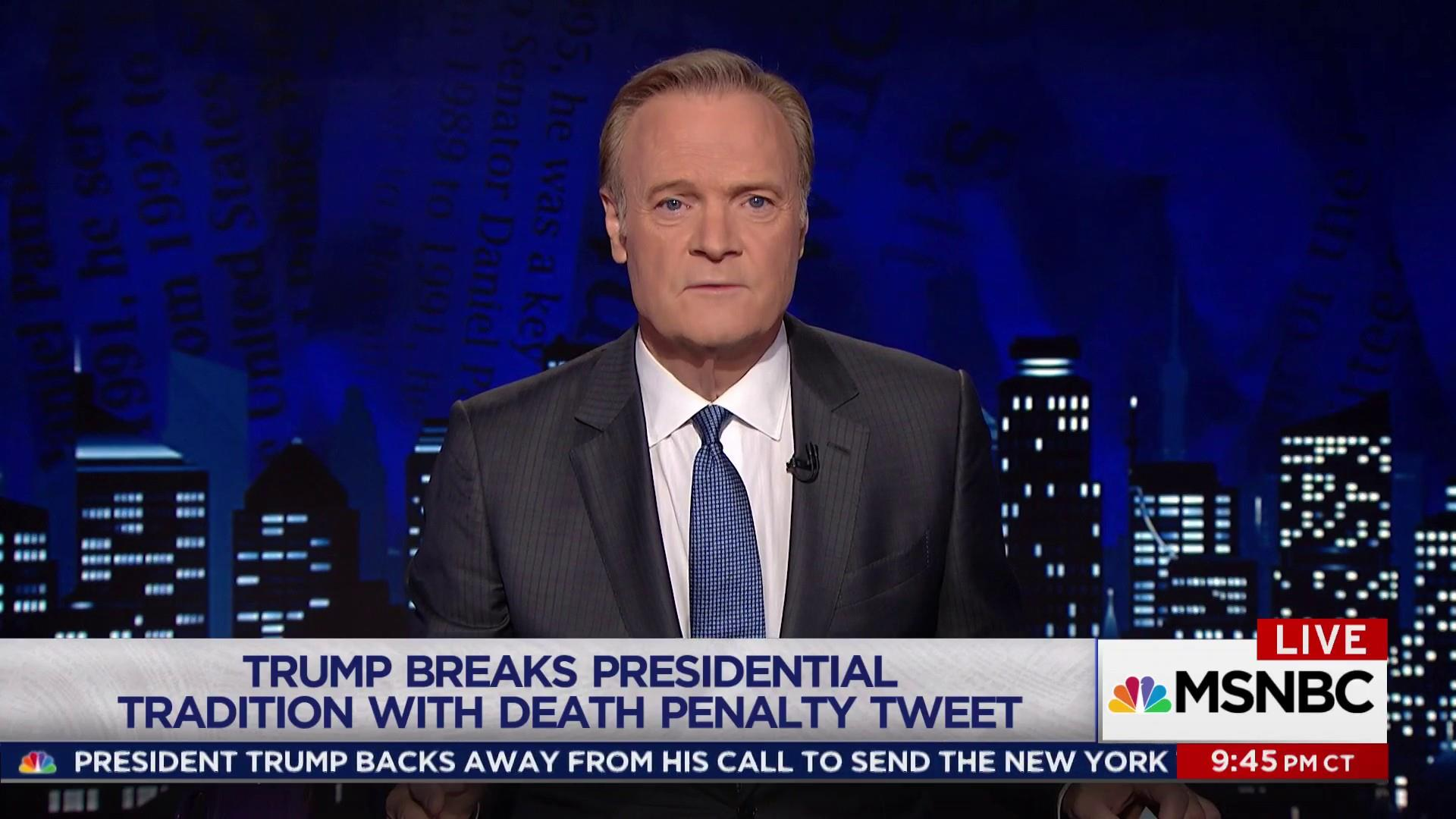 Lawrence: What Trump could have learned...