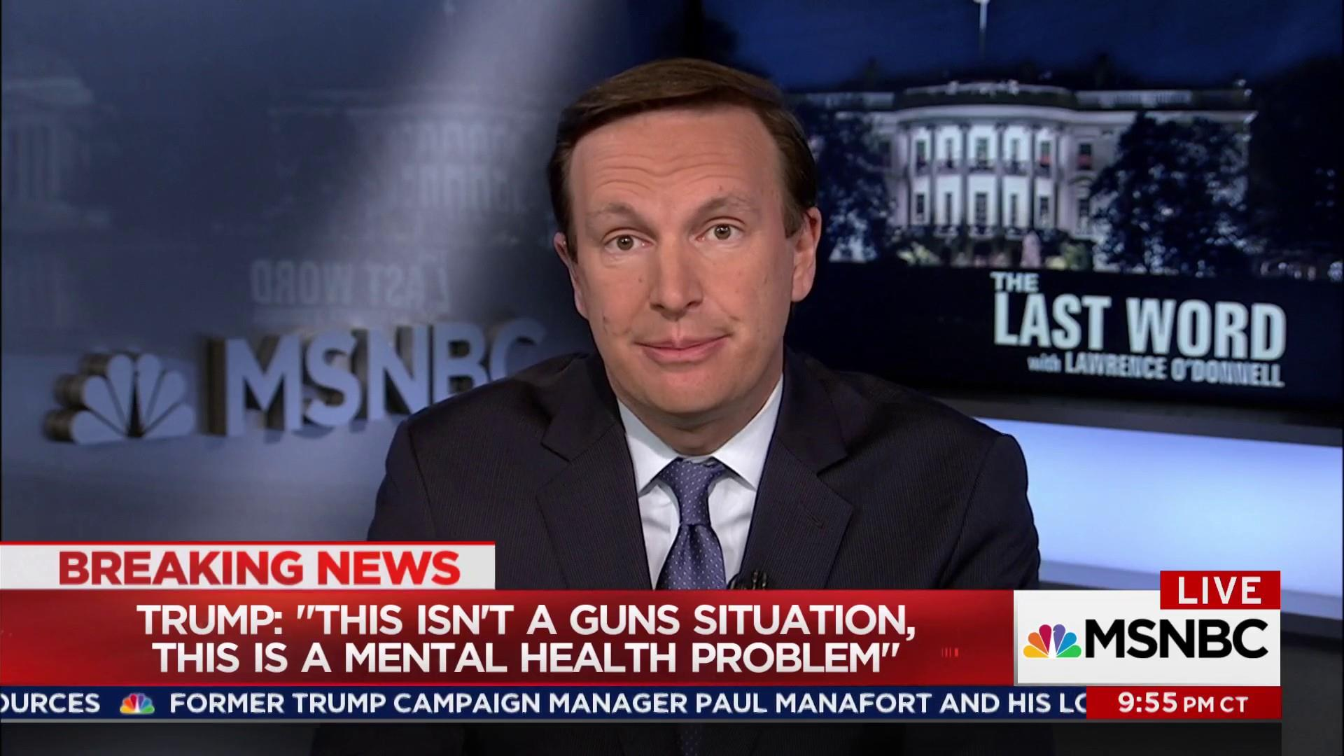 Sen. Chris Murphy: Republicans are afraid...