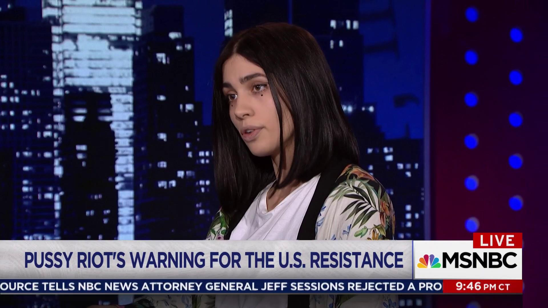 Pussy Riot's warning about Trump for the U...