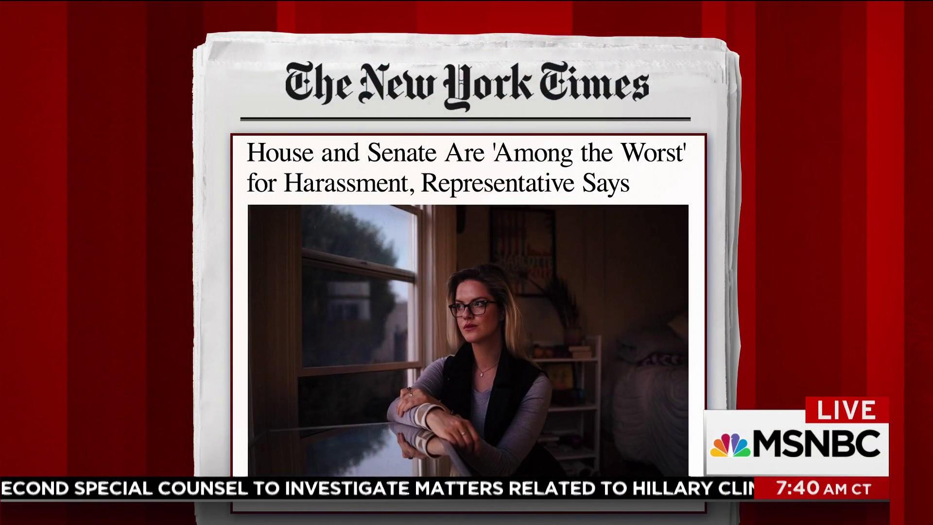 NYT reports on rep. who calls out DC for...