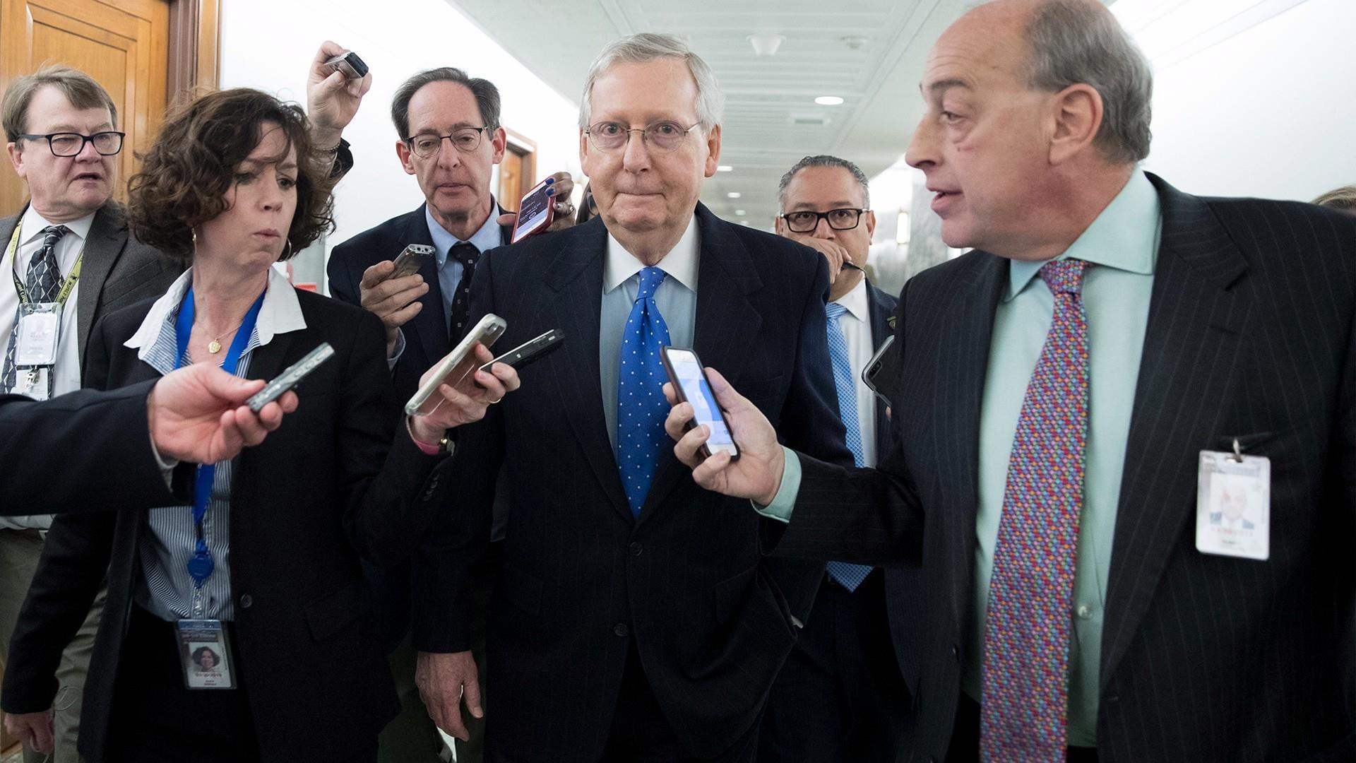 Senate debating tax cuts ahead of final...