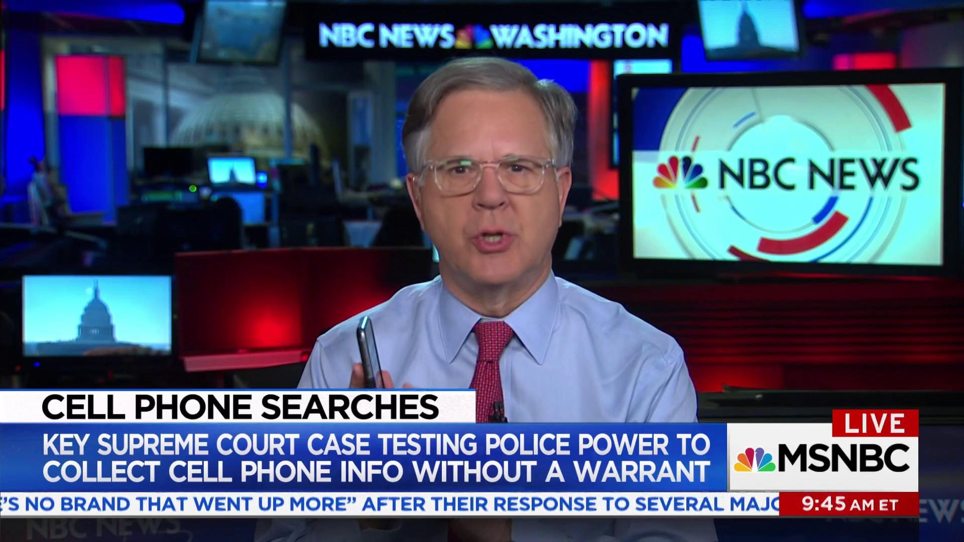 Supreme Court to determine whether police can track you with your cellphone