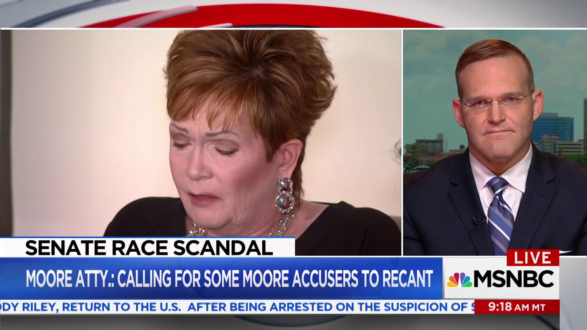 Full interview: Roy Moore's attorney...