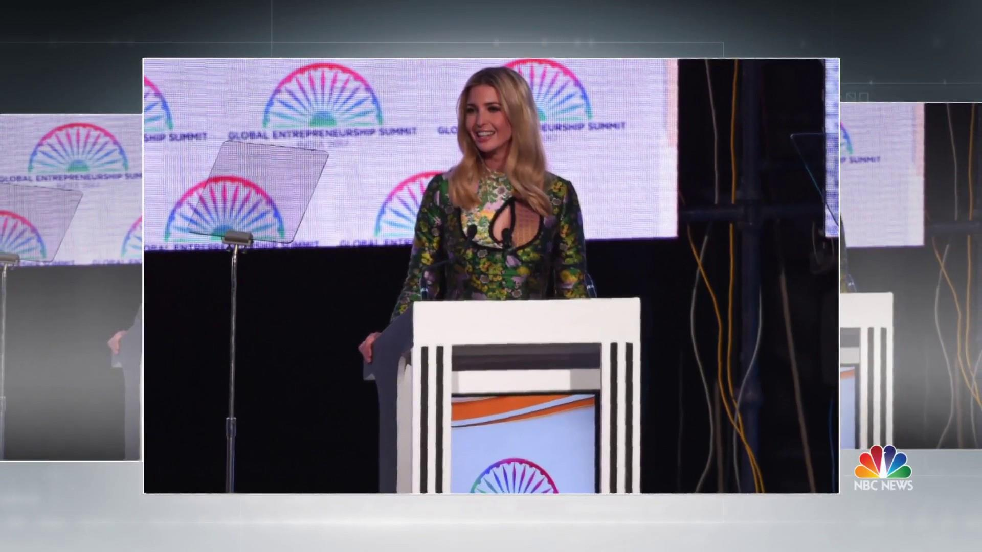 Ivanka Trump visit pushes 'women first, prosperity for all' in India
