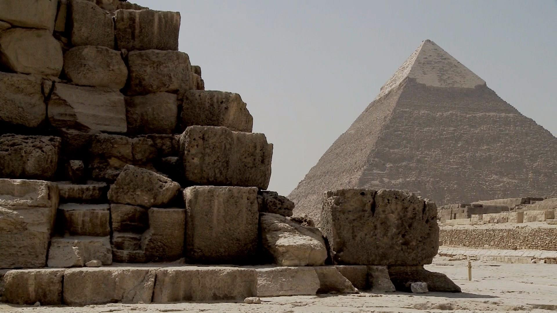 Mysterious 'void' discovered inside Great Pyramid of Giza
