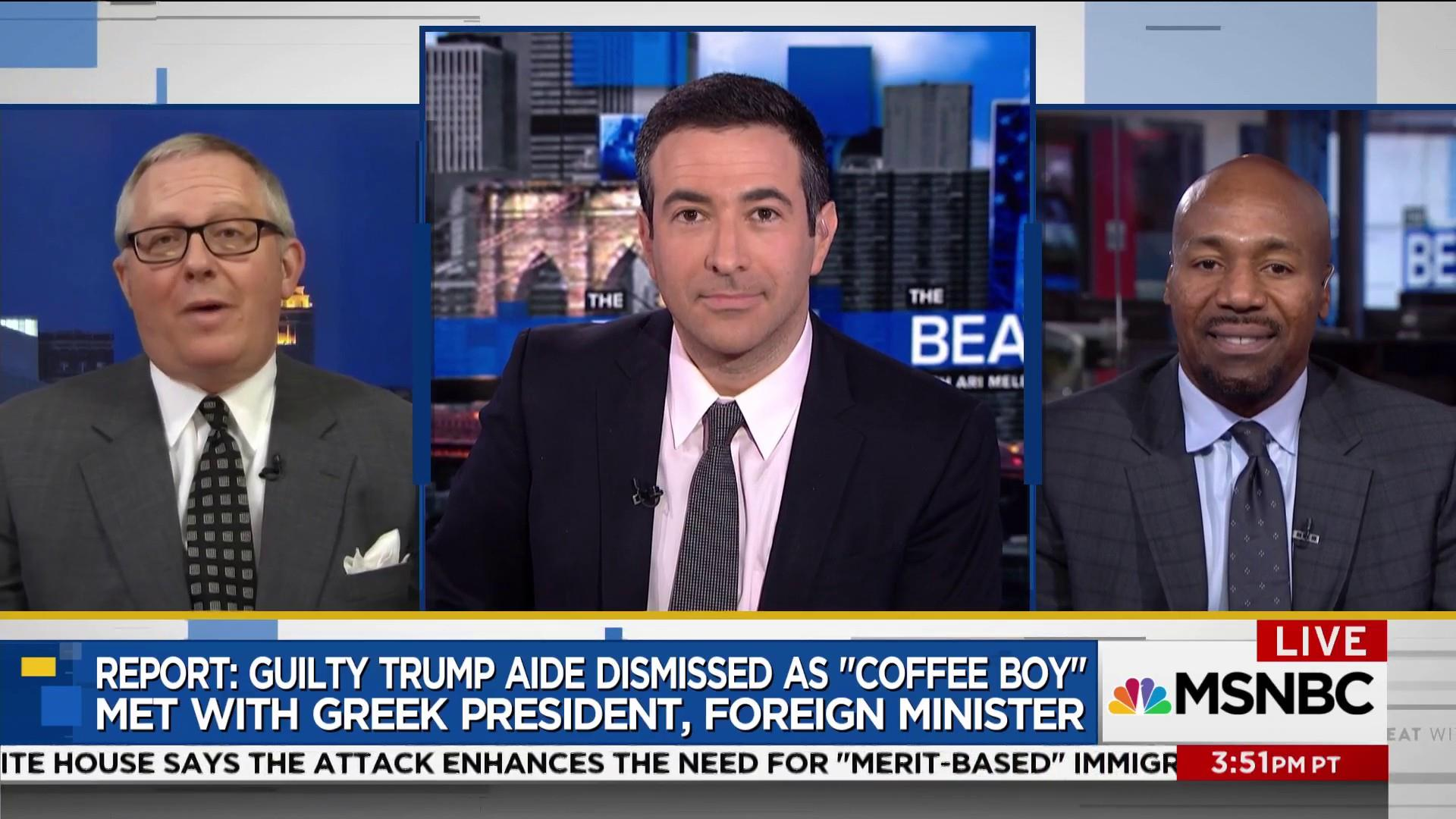 "Trump aide who coined ""coffee boy"" defense admits some exaggeration"
