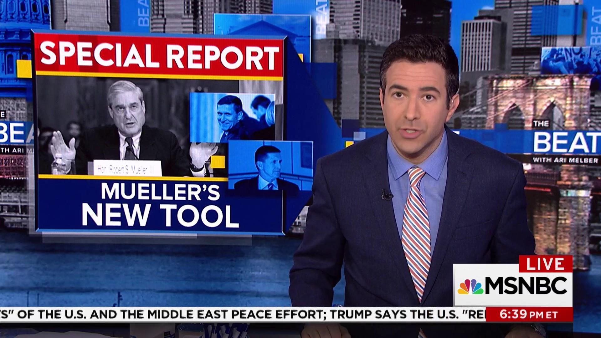 Ari Melber breaks story on Mueller's path...