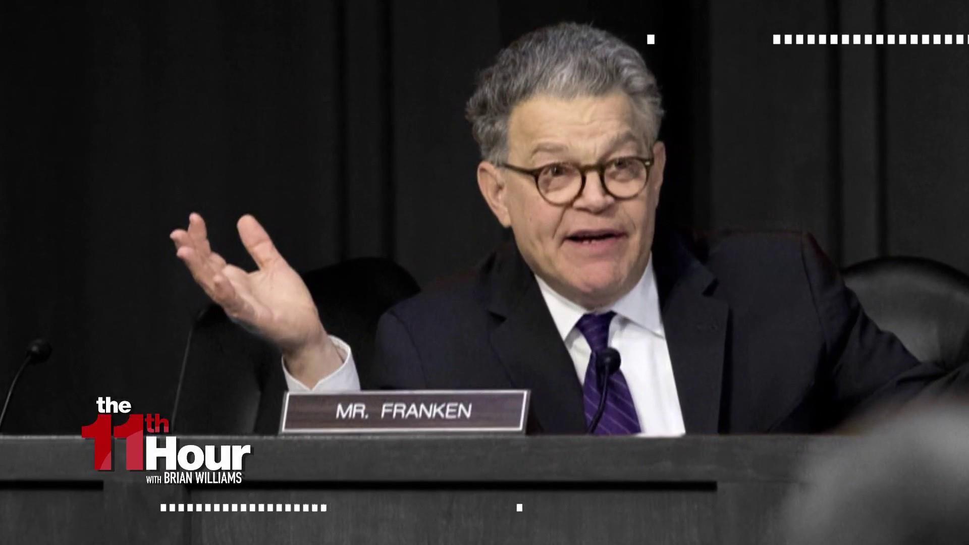 Dozens of Democrats call for Sen. Al...