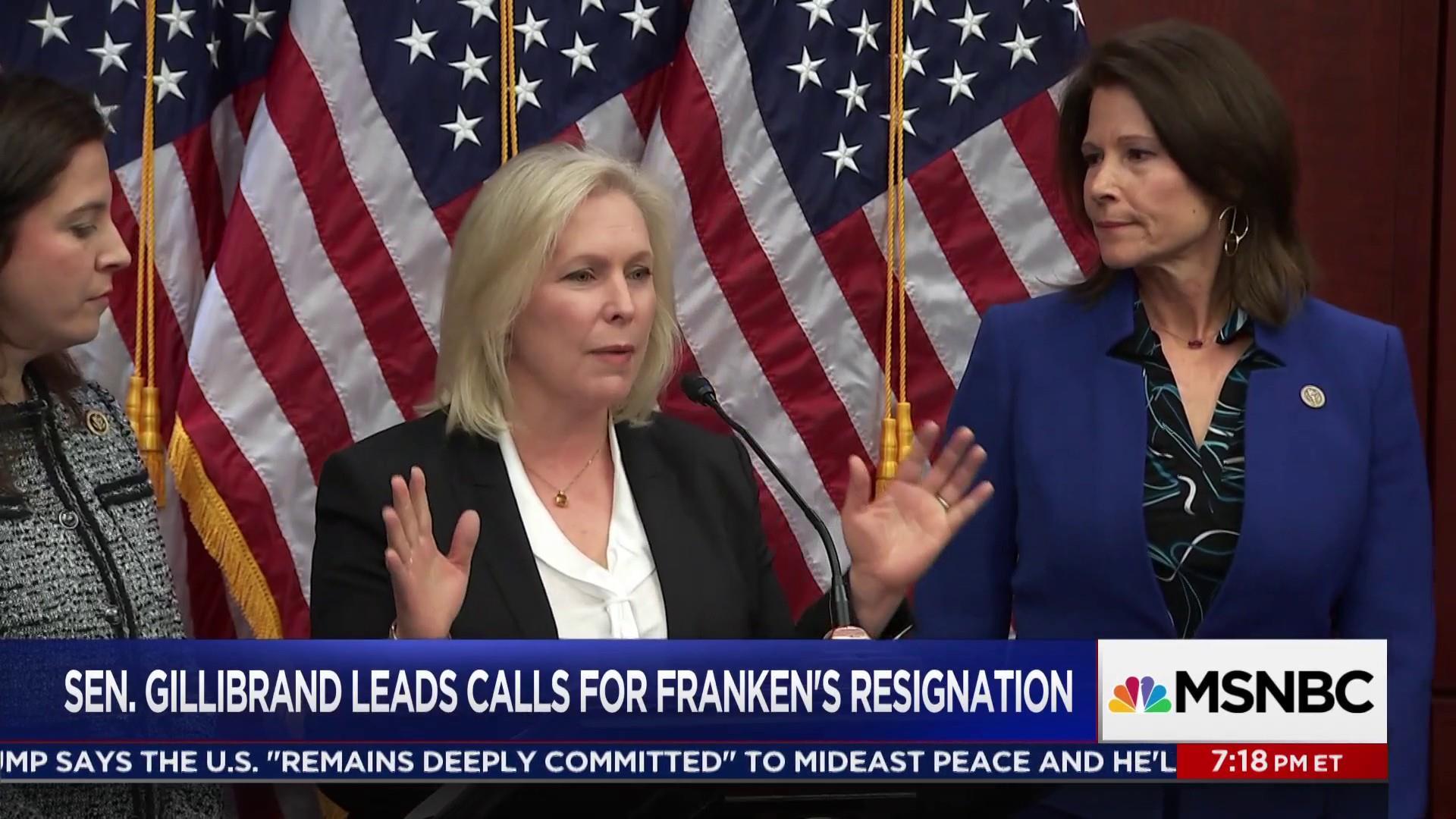 Senators call on Al Franken to resign