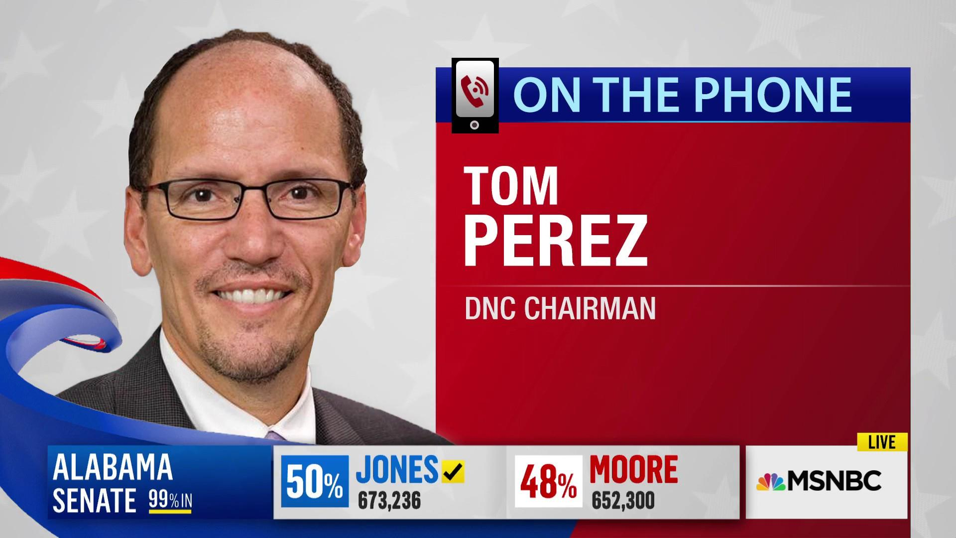 Tom Perez: Tonight was a victory for decency