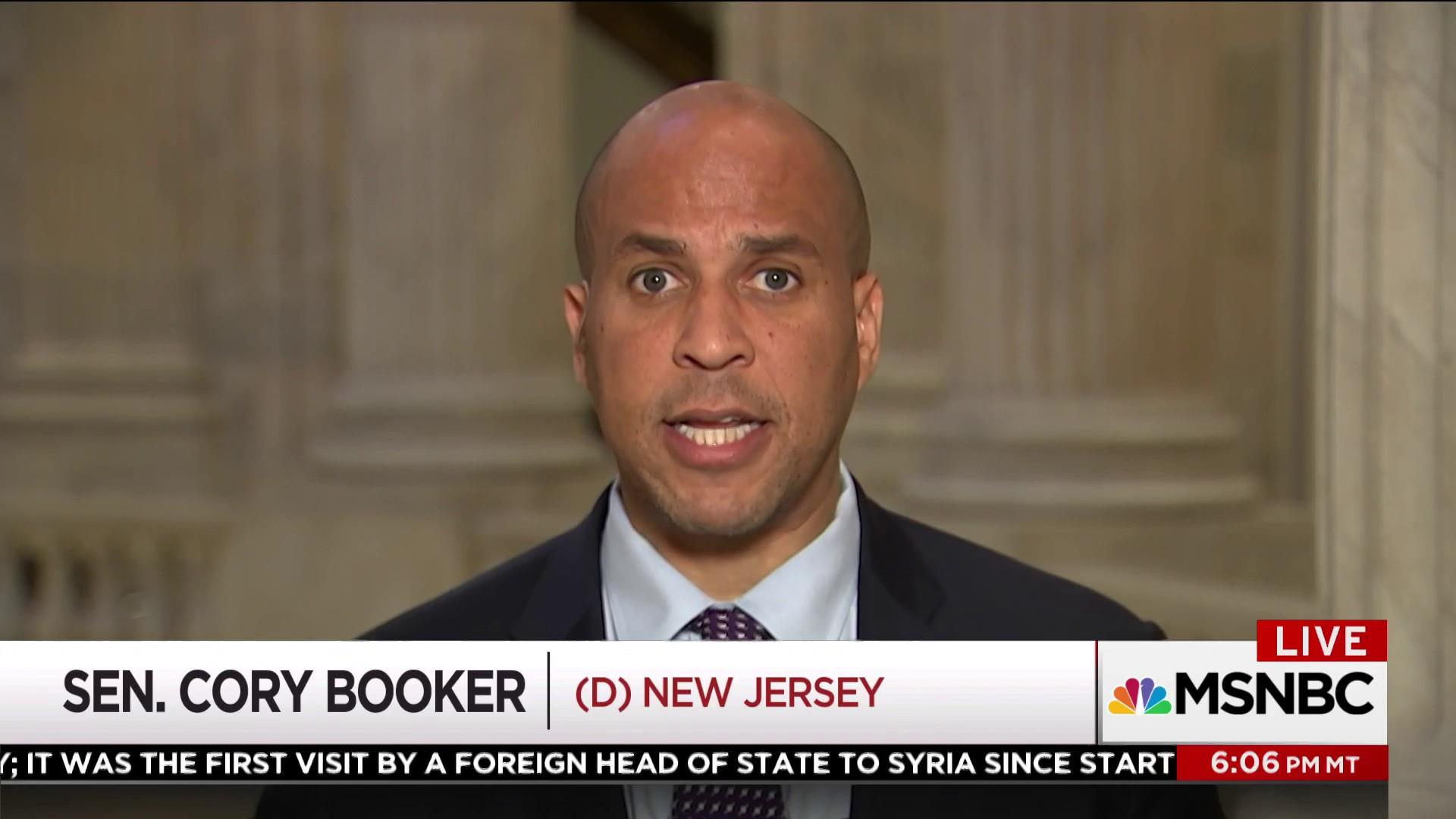 Cory Booker: Roy Moore won't be accepted in the Senate