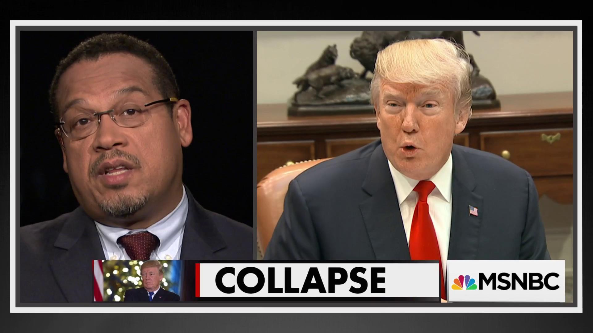 Keith Ellison: Trump now is not to be feared by anyone