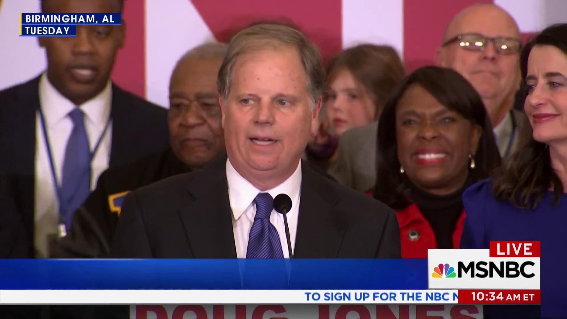 Black voters send a message with Doug Jones win