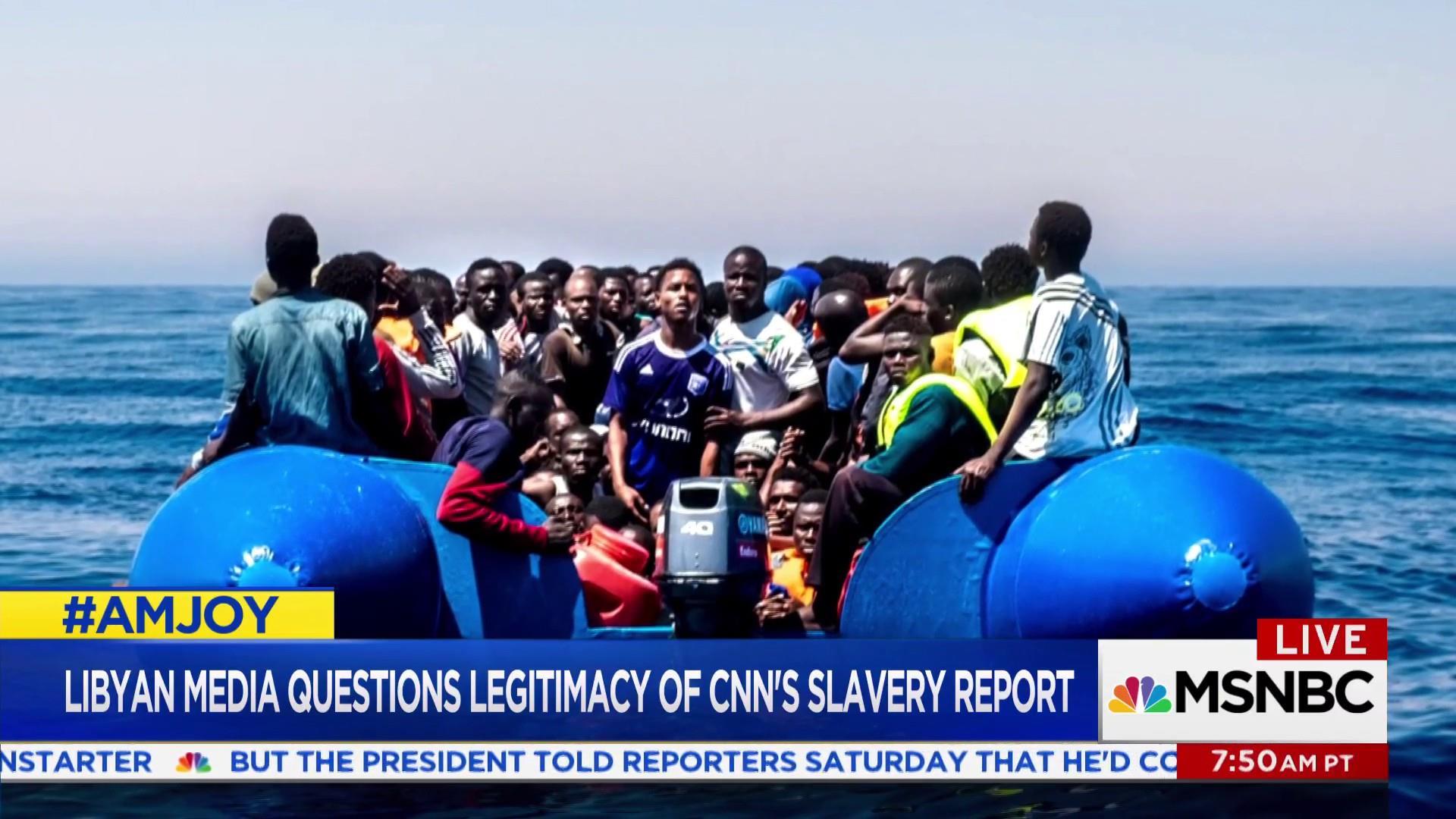 Libyan slave trade: 'world is watching,...