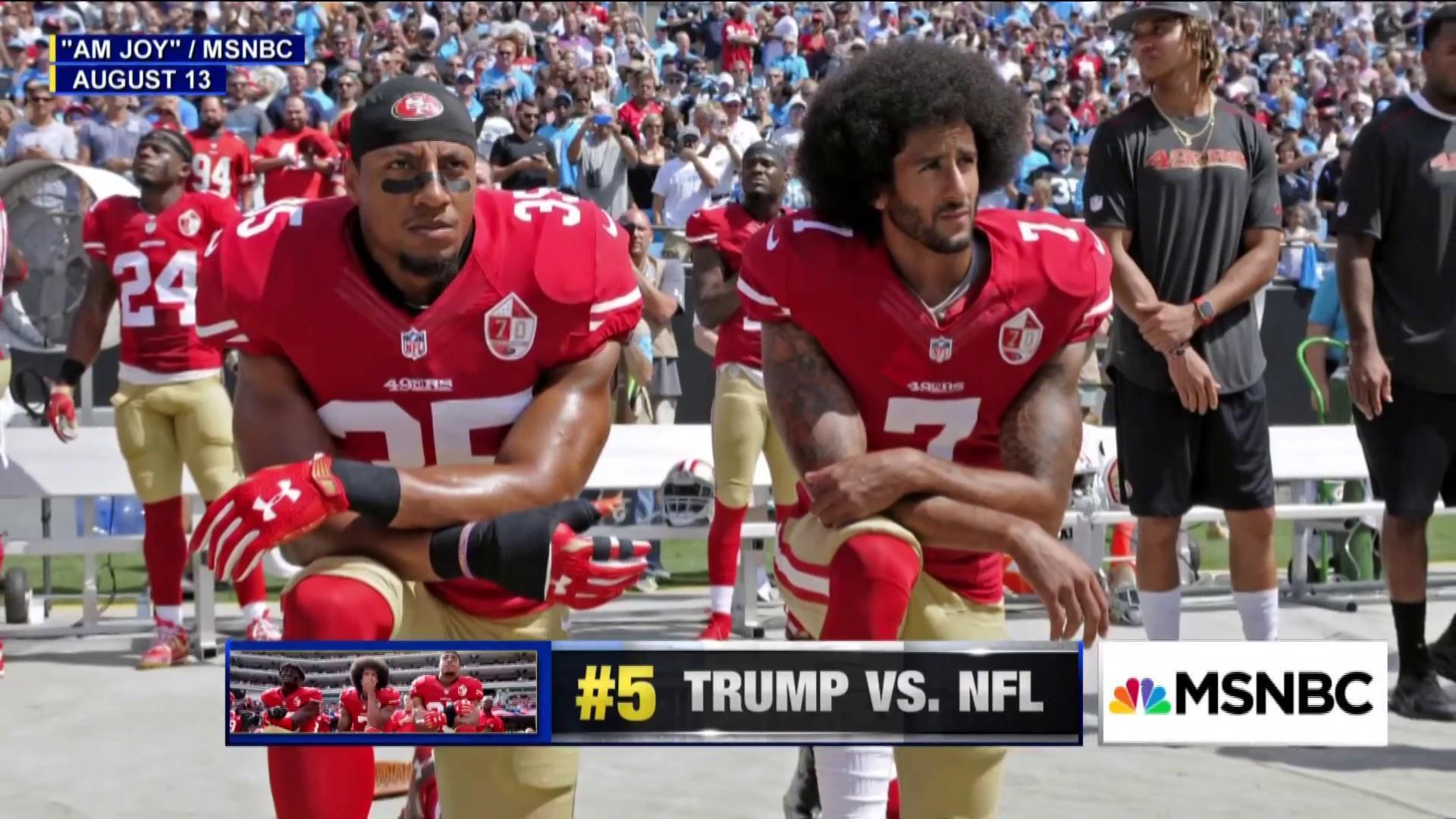 #BestofJoy: President Trump takes on the NFL