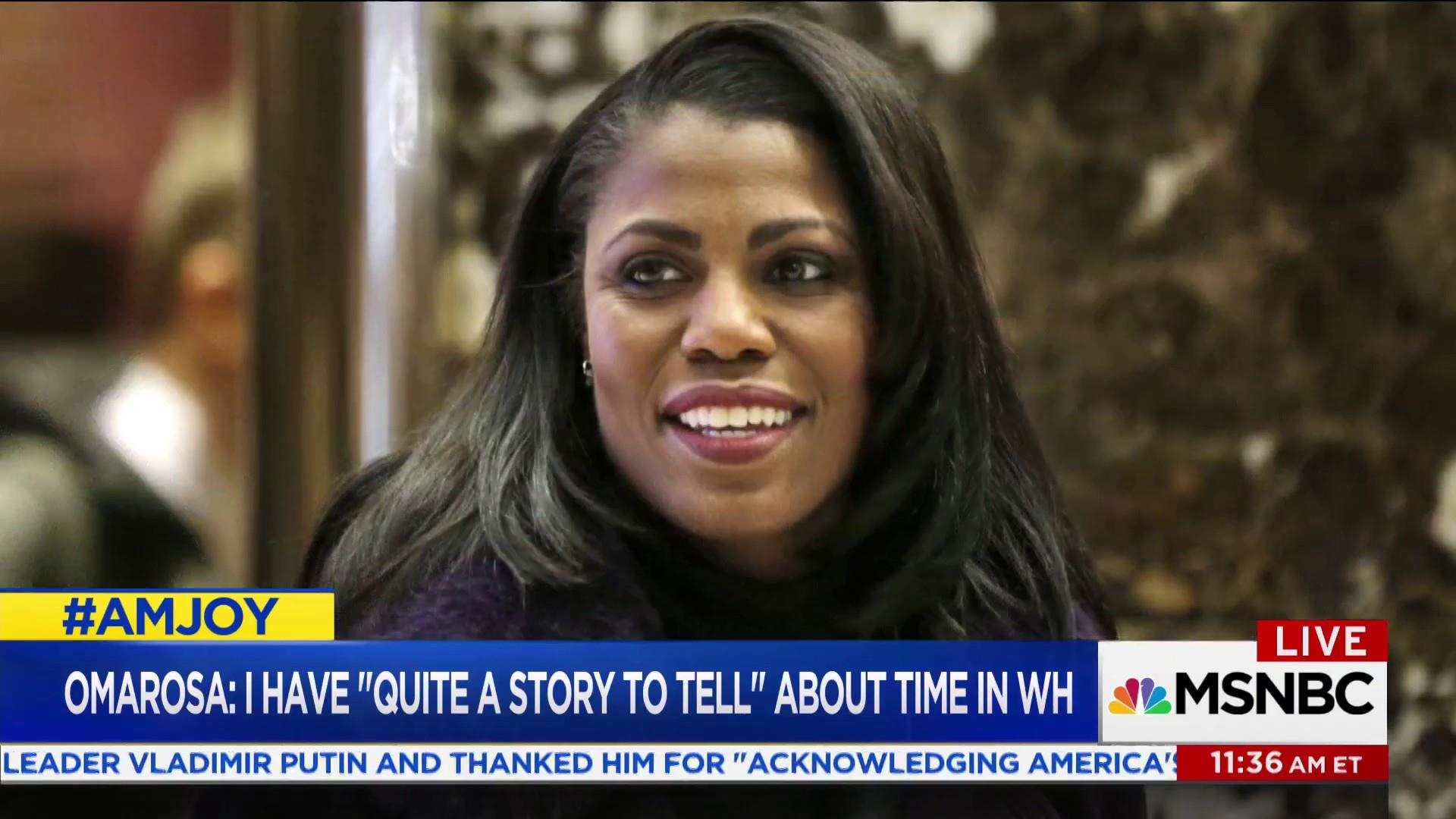 Omarosa Manigault might tell all about Trump's White House
