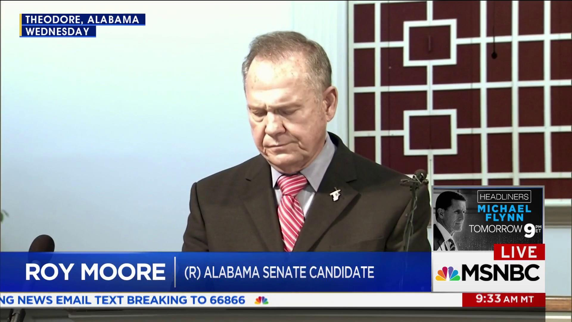 Roy Moore supporter addresses his sexual...