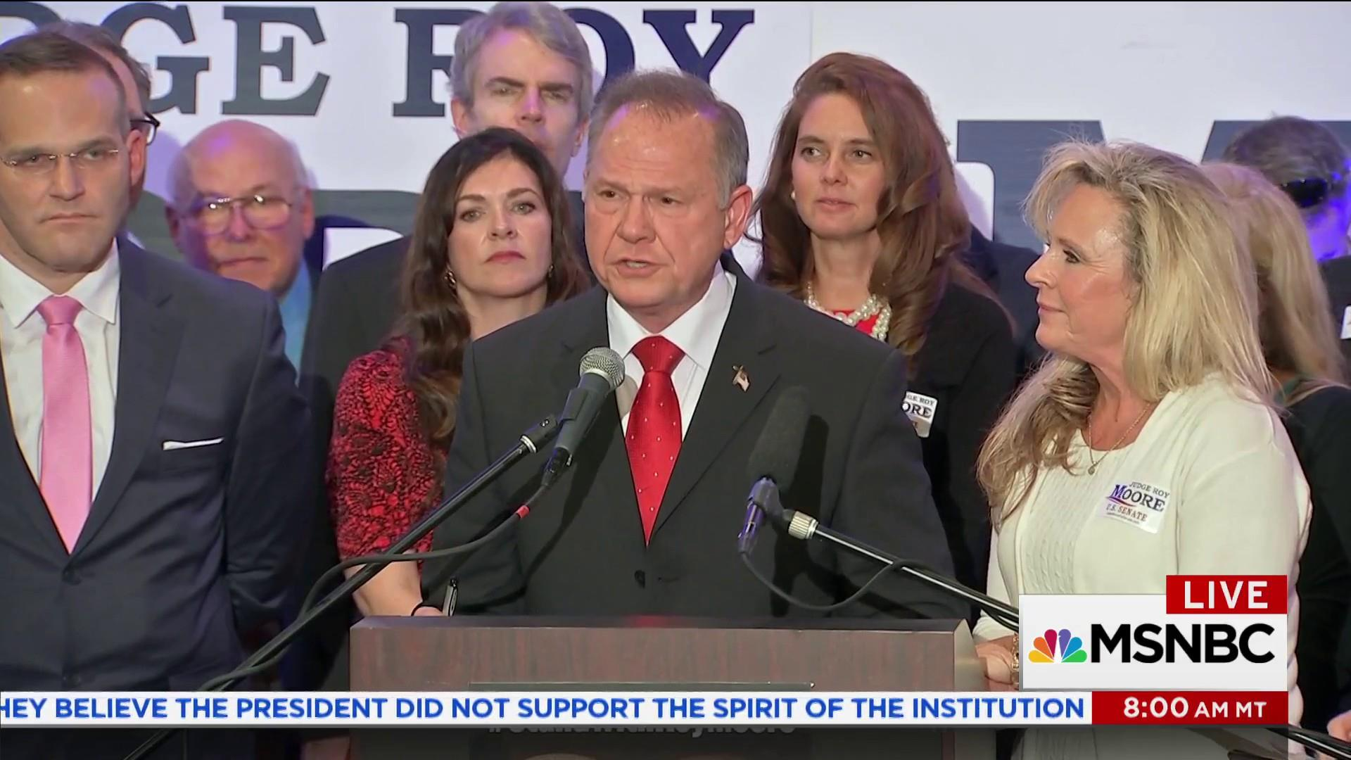 What Trump and Roy Moore say about today's GOP