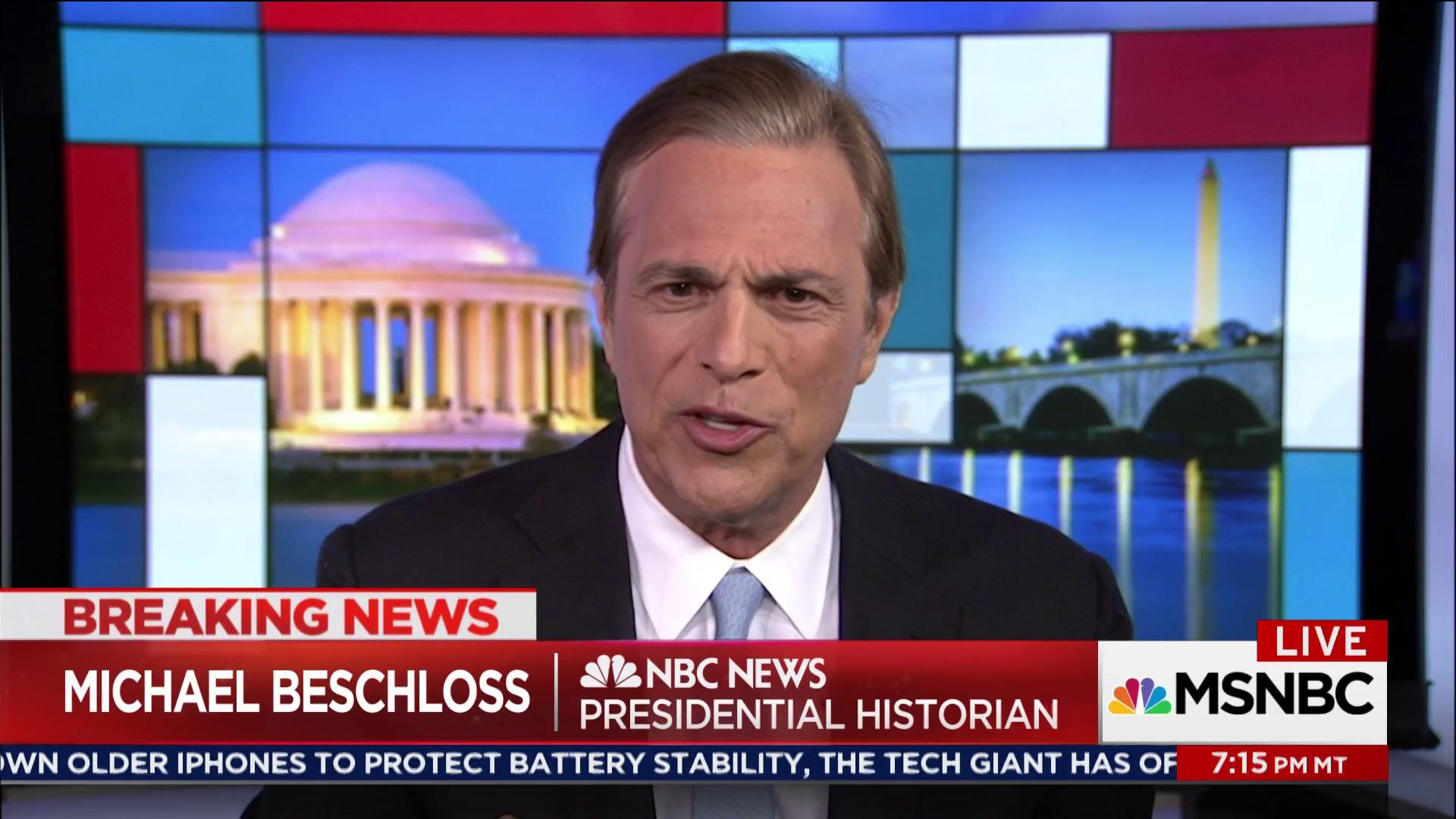 Trump assertions on DoJ farther than Nixon