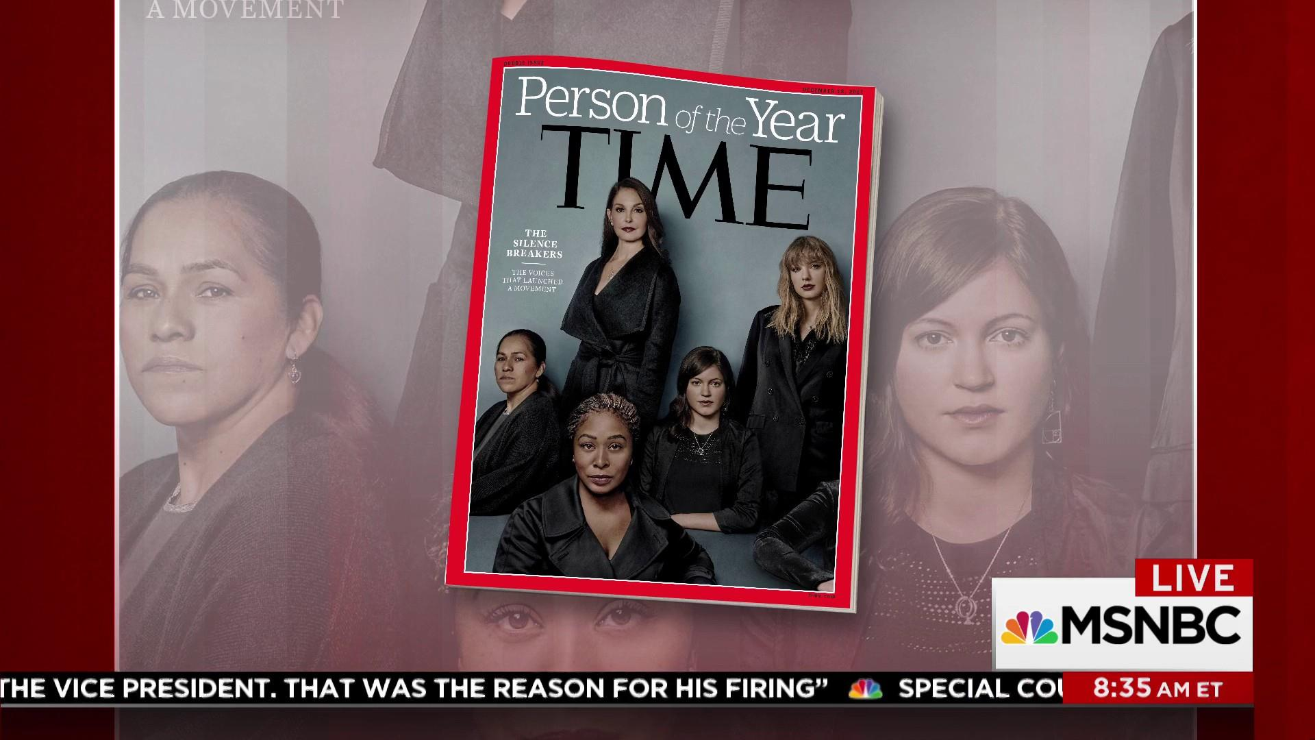 silence breakers are times 2017 person of the year