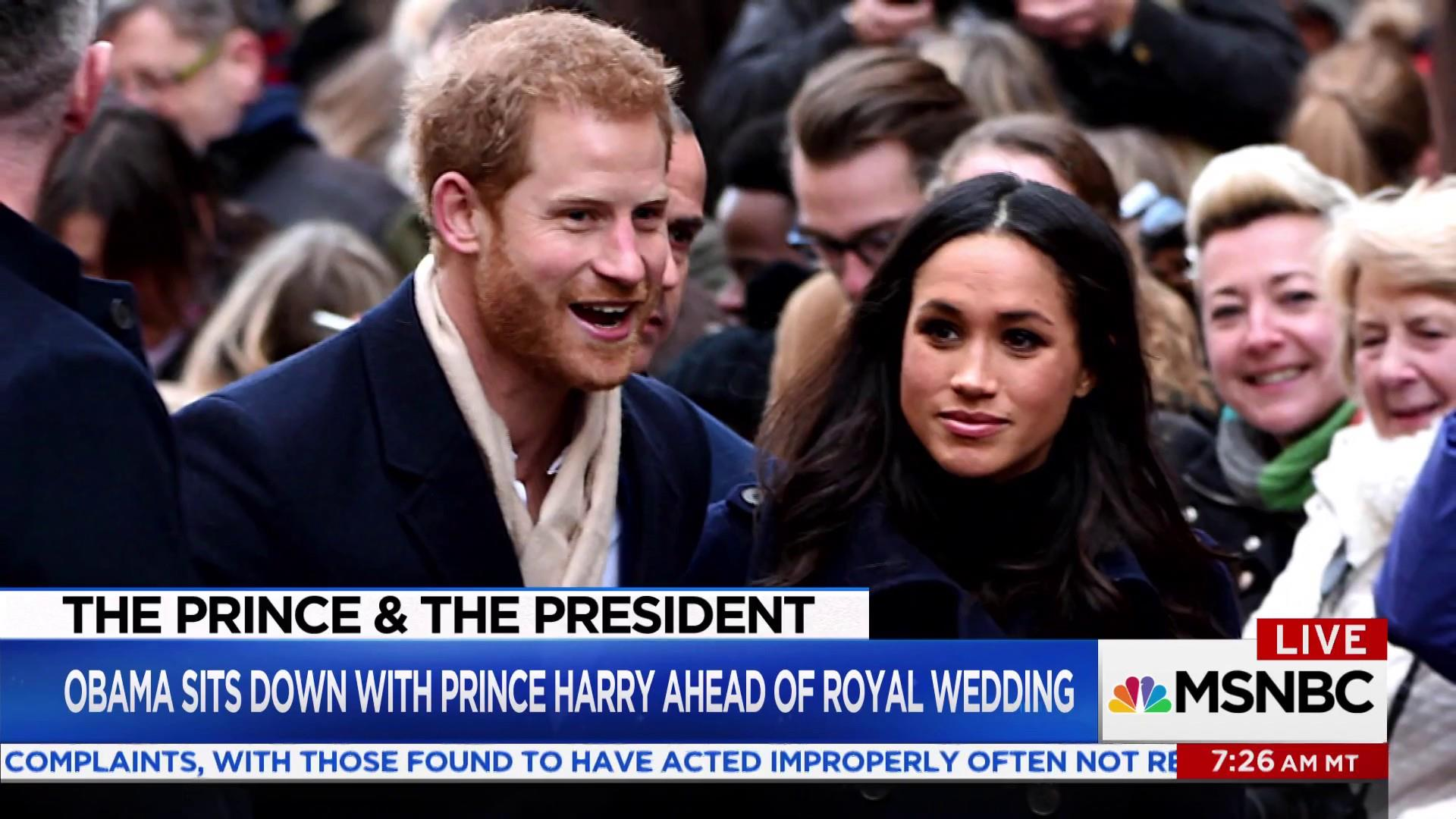 Were The Obamas Invited To The Royal Wedding.Prince Harry Asked About Possible Obama Invite To Royal Wedding