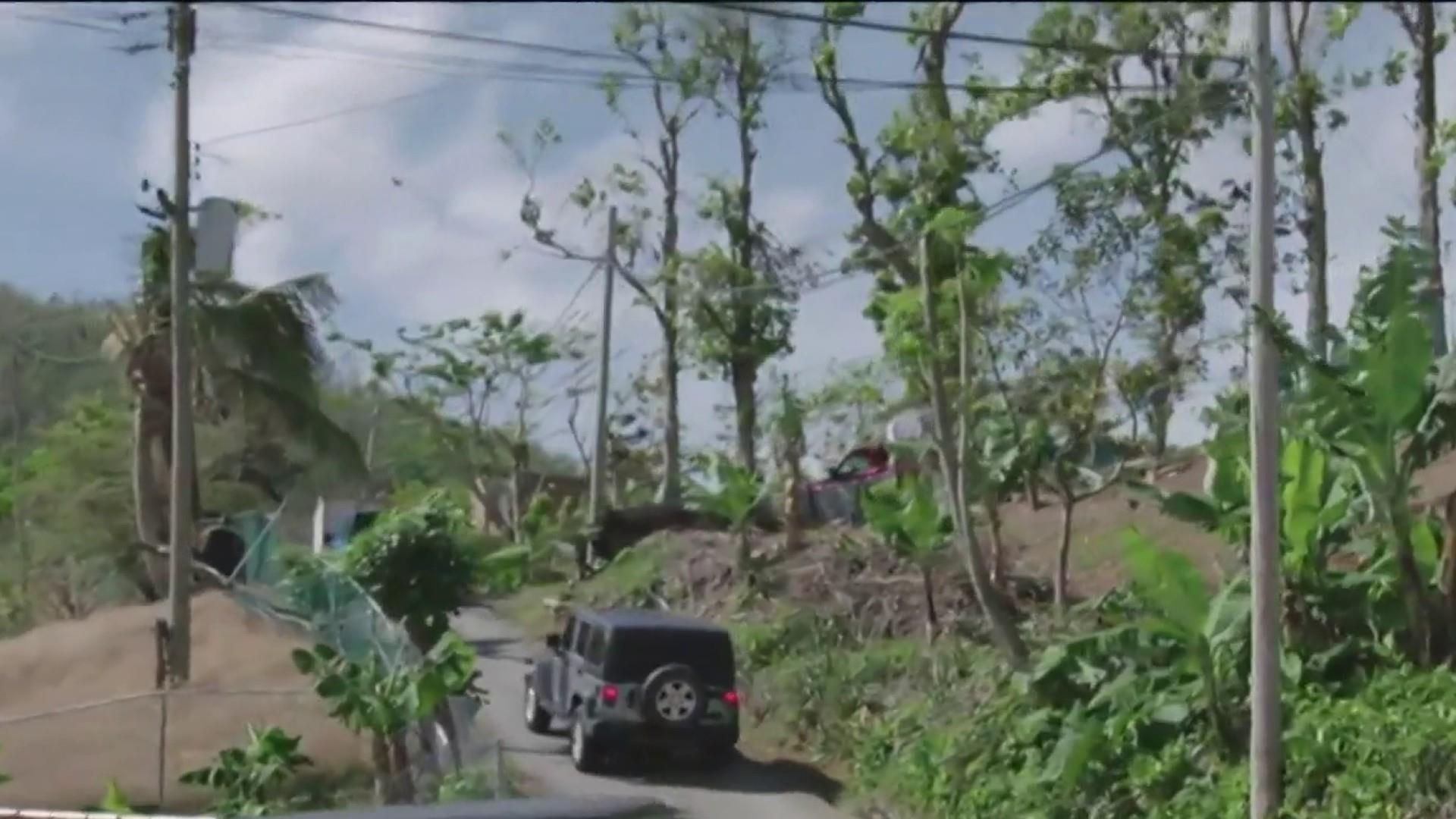Puerto Rico still without power three months after Hurricane Maria