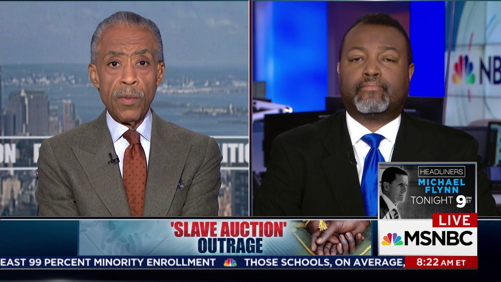 Slave Auction Outrage