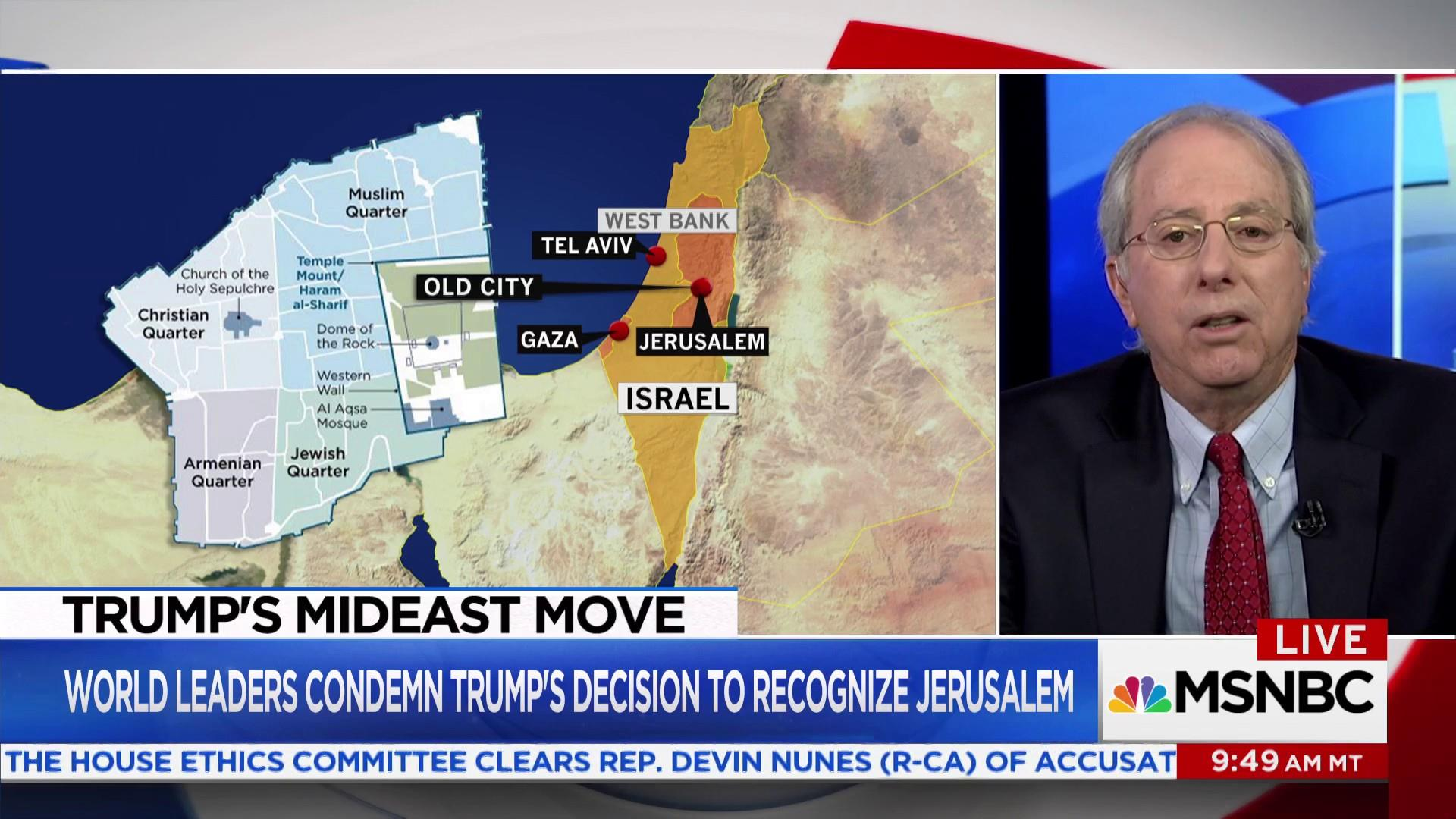 Breaking down Trump's decision to recognize Jerusalem