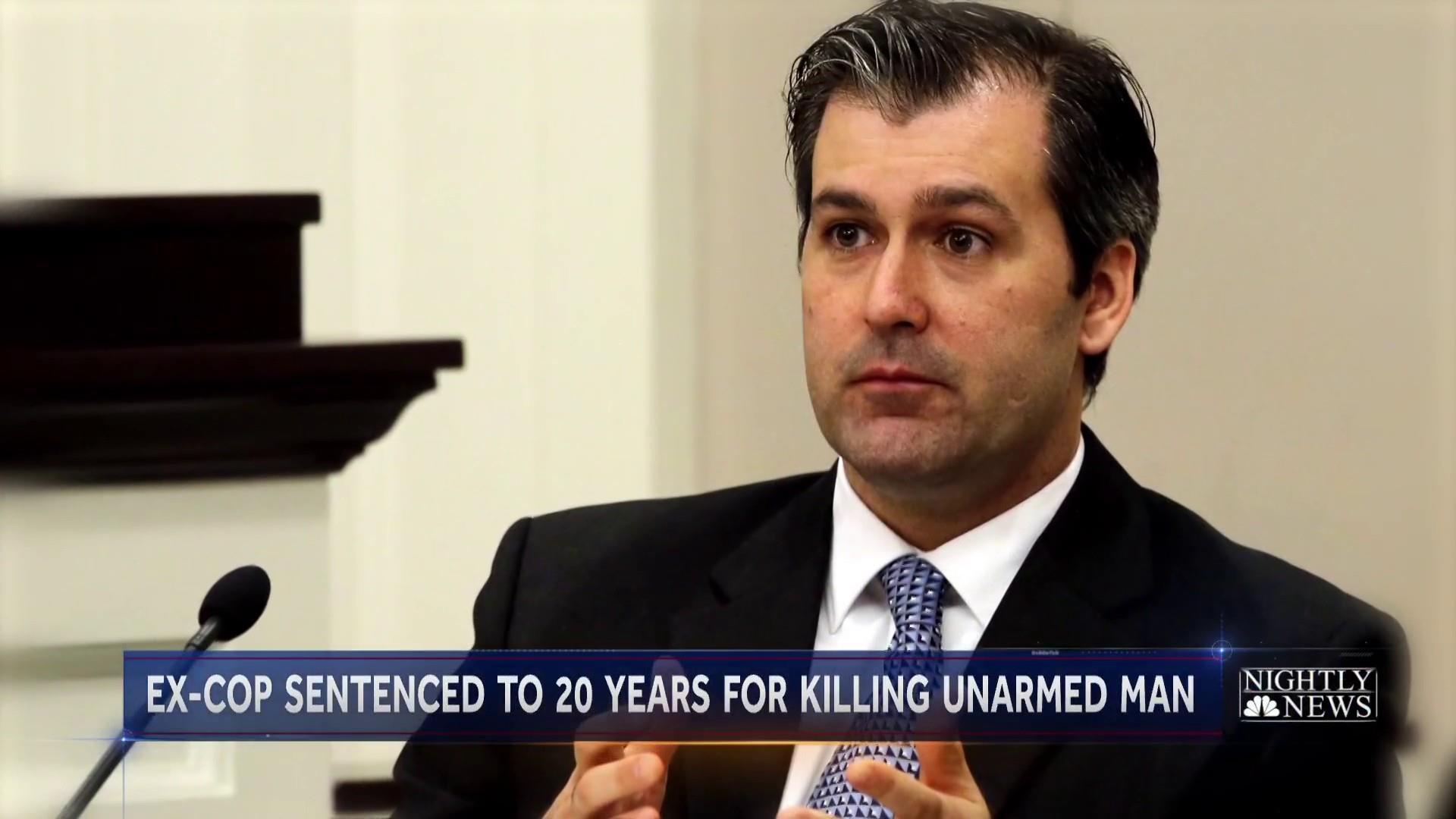 Walter Scott shooting: Michael Slager, ex-officer, sentenced