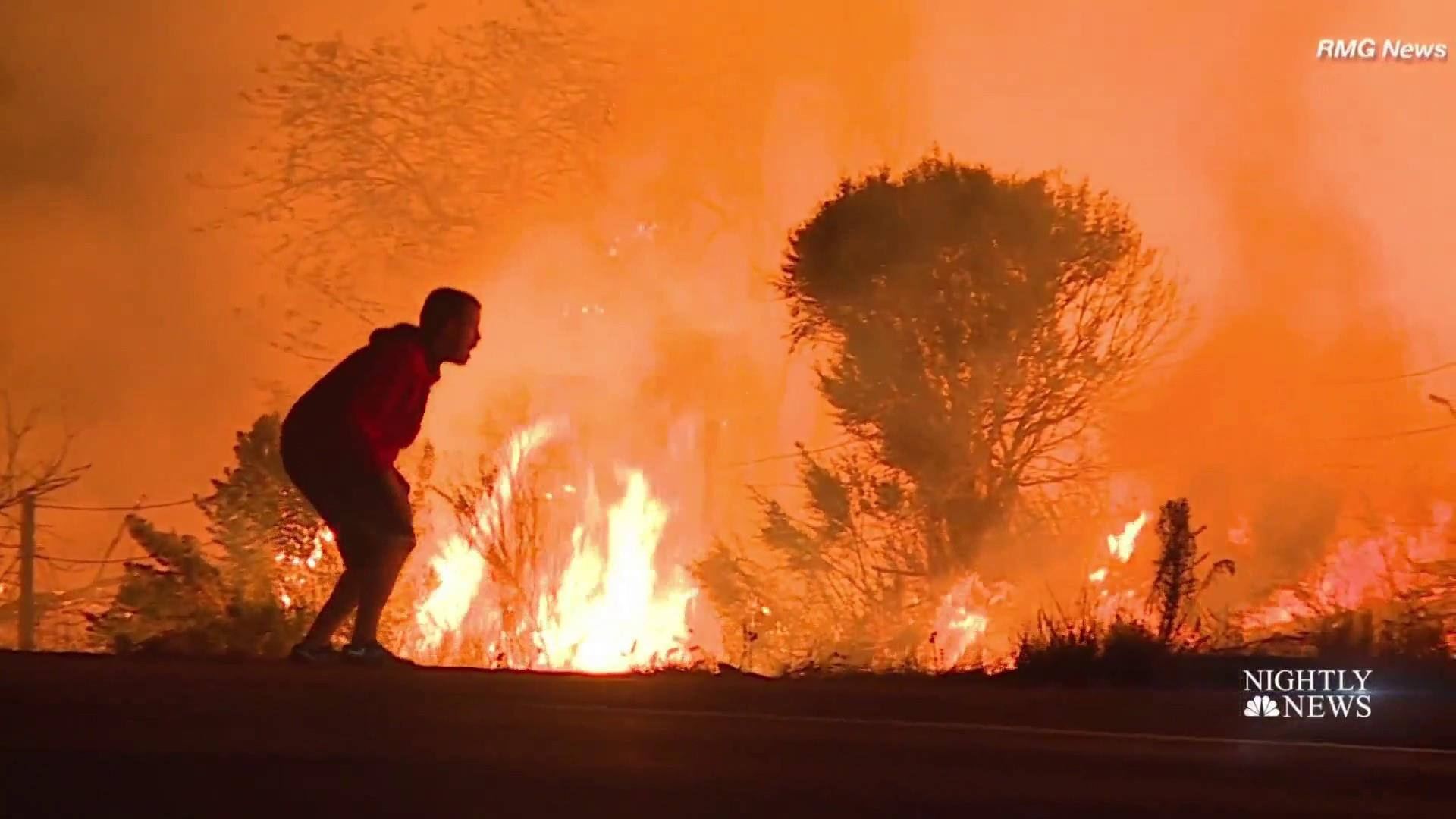 new wildfire racing near san diego adds to california crews burden rh nbcnews com fire in oceanside ny right now Fire Near Oceanside CA
