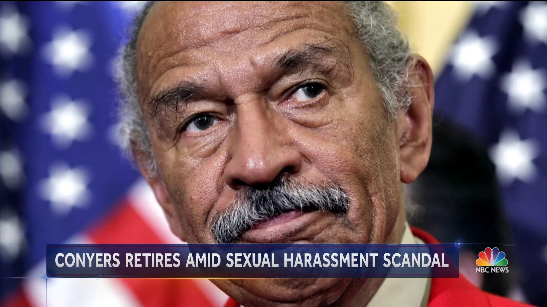 Rep. John Conyers announces retirement amid sexual misconduct allegations