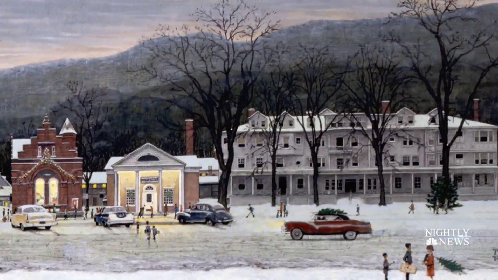 Massachusetts town turns back the clock in ode to Norman Rockwell