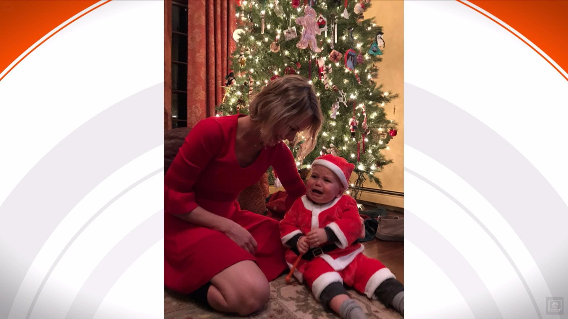 49db7cd1d7 TODAY anchors share their family Christmas photos