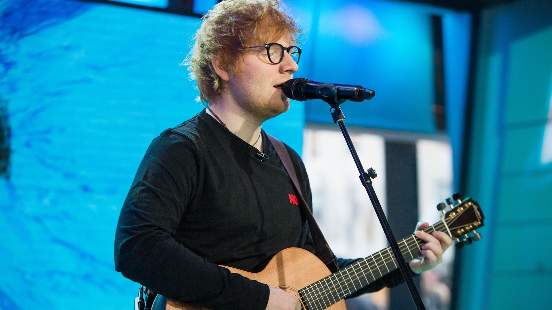 watch ed sheeran perform perfect live on today. Black Bedroom Furniture Sets. Home Design Ideas