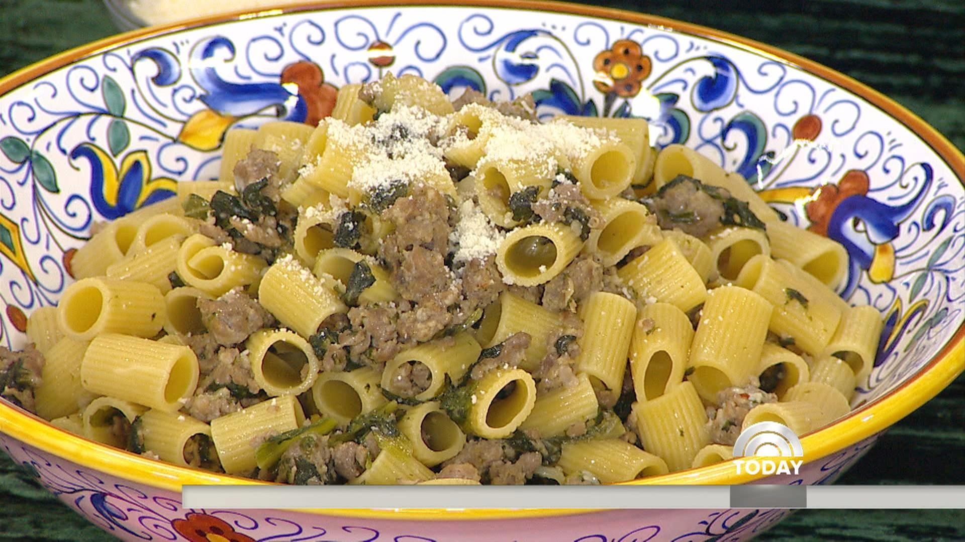 Meaty pasta, wintry salad, sparkling drinks: Make Lidia Bastianich's Christmas dinner