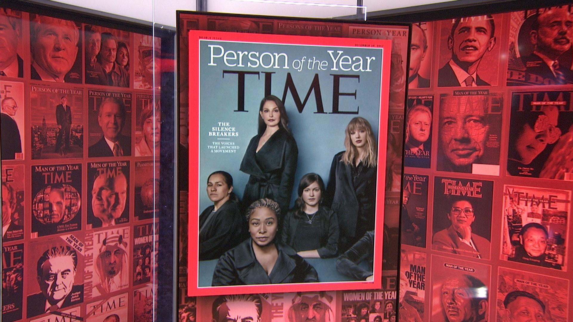 Time Poty 2017 >> The Silence Breakers are TIME's 2017 Person of the Year